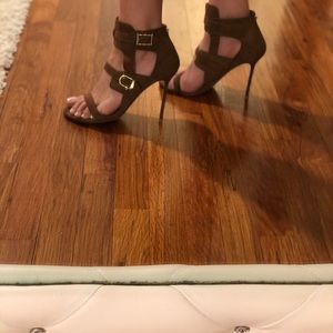 Authentic Valentino shade open toe high heel shoe